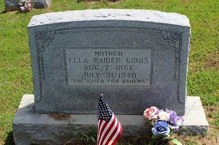 GIBBS, ELLA - Pulaski County, Virginia | ELLA GIBBS - Virginia Gravestone Photos
