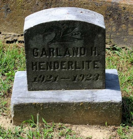 HENDERLITE, GARLAND H. - Pulaski County, Virginia | GARLAND H. HENDERLITE - Virginia Gravestone Photos