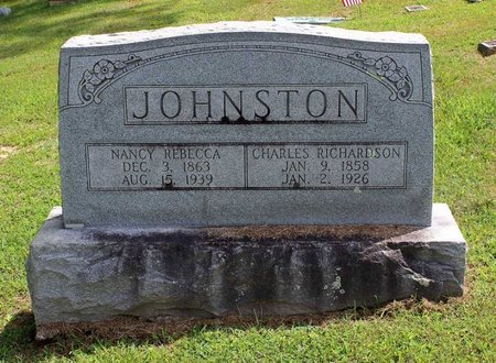 JOHNSTON, NANCY REBECCA - Pulaski County, Virginia | NANCY REBECCA JOHNSTON - Virginia Gravestone Photos