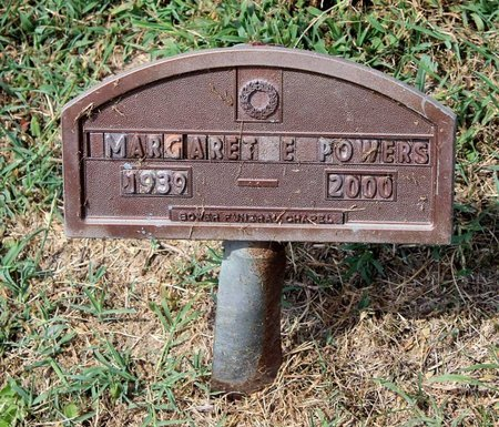 POWERS, MARGARET E. - Pulaski County, Virginia | MARGARET E. POWERS - Virginia Gravestone Photos