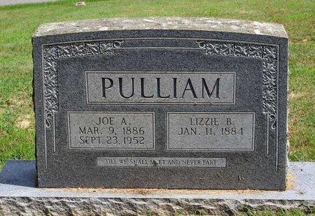 PULLIAM, LIZZIE B. - Pulaski County, Virginia | LIZZIE B. PULLIAM - Virginia Gravestone Photos