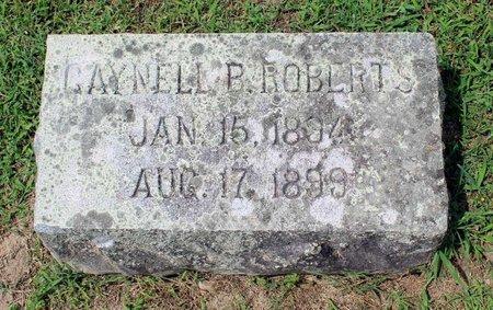 ROBERTS, GAYNELL B. - Pulaski County, Virginia | GAYNELL B. ROBERTS - Virginia Gravestone Photos