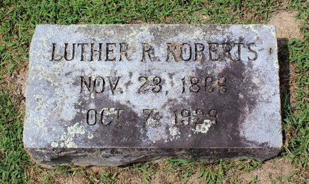 ROBERTS, LUTHER R. - Pulaski County, Virginia | LUTHER R. ROBERTS - Virginia Gravestone Photos