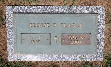 SEAGLE, ELOISE B. - Pulaski County, Virginia | ELOISE B. SEAGLE - Virginia Gravestone Photos
