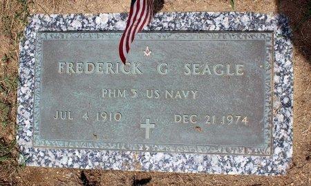 SEAGLE, FREDERICK G. - Pulaski County, Virginia   FREDERICK G. SEAGLE - Virginia Gravestone Photos