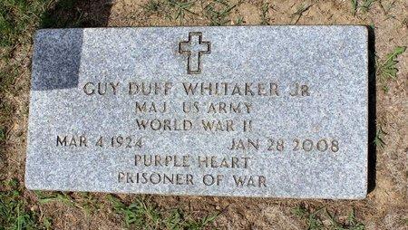WHITAKER, GUY DUFF - Pulaski County, Virginia | GUY DUFF WHITAKER - Virginia Gravestone Photos