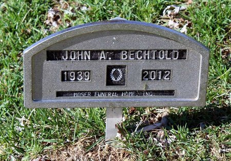 BECHTOLD, JOHN A. - Rappahannock County, Virginia   JOHN A. BECHTOLD - Virginia Gravestone Photos