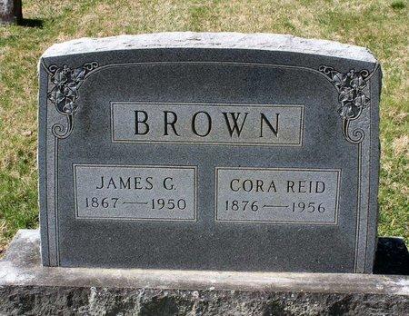 REID BROWN, CORA - Rappahannock County, Virginia | CORA REID BROWN - Virginia Gravestone Photos