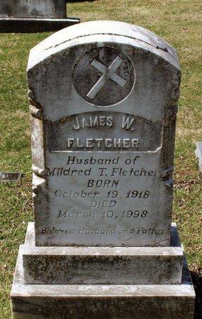 FLETCHER, JAMES W. - Rappahannock County, Virginia | JAMES W. FLETCHER - Virginia Gravestone Photos