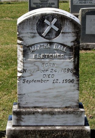 FLETCHER, MARTHA - Rappahannock County, Virginia | MARTHA FLETCHER - Virginia Gravestone Photos