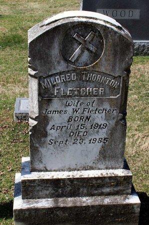 THORNTON FLETCHER, MILDRED - Rappahannock County, Virginia | MILDRED THORNTON FLETCHER - Virginia Gravestone Photos
