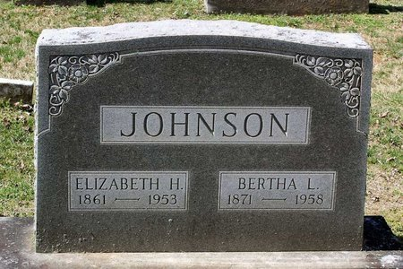 JOHNSON, BERTHA L. - Rappahannock County, Virginia | BERTHA L. JOHNSON - Virginia Gravestone Photos