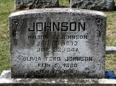 JOHNSON, OLIVIA - Rappahannock County, Virginia | OLIVIA JOHNSON - Virginia Gravestone Photos