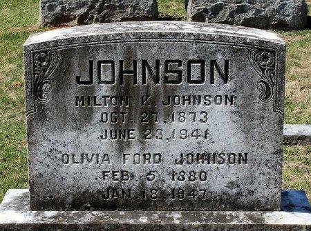 FORD JOHNSON, OLIVIA - Rappahannock County, Virginia | OLIVIA FORD JOHNSON - Virginia Gravestone Photos