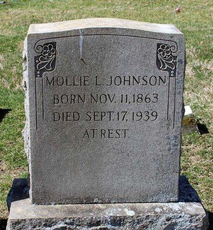 JOHNSON, MOLLIE L. - Rappahannock County, Virginia   MOLLIE L. JOHNSON - Virginia Gravestone Photos