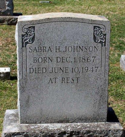 JOHNSON, SABRA H. - Rappahannock County, Virginia | SABRA H. JOHNSON - Virginia Gravestone Photos