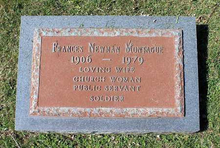 NEWMAN MONTAGUE, FRANCES - Rappahannock County, Virginia | FRANCES NEWMAN MONTAGUE - Virginia Gravestone Photos