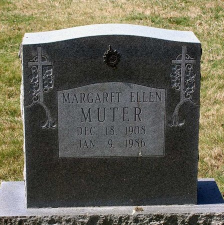 MUTER, MARGARET ELLEN - Rappahannock County, Virginia | MARGARET ELLEN MUTER - Virginia Gravestone Photos