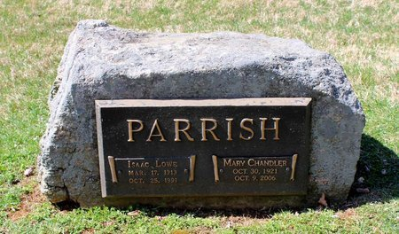 CHANDLER PARRISH, MARY - Rappahannock County, Virginia | MARY CHANDLER PARRISH - Virginia Gravestone Photos