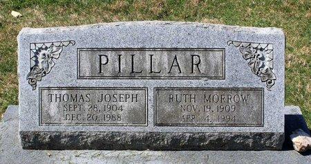 MORROW PILLAR, RUTH - Rappahannock County, Virginia | RUTH MORROW PILLAR - Virginia Gravestone Photos