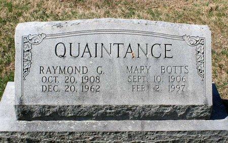 QUAINTANCE, MARY - Rappahannock County, Virginia | MARY QUAINTANCE - Virginia Gravestone Photos