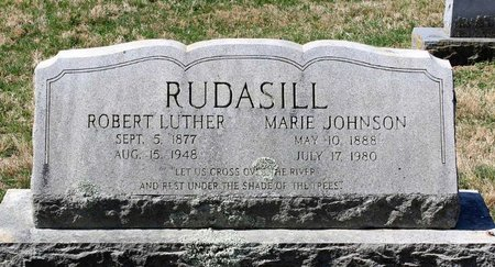 RUDASILL, ROBERT LUTHER - Rappahannock County, Virginia | ROBERT LUTHER RUDASILL - Virginia Gravestone Photos