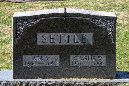 SETTLE, CHARLIE W. - Rappahannock County, Virginia   CHARLIE W. SETTLE - Virginia Gravestone Photos