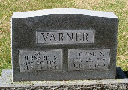 VARNER, LOUISE S. - Rappahannock County, Virginia | LOUISE S. VARNER - Virginia Gravestone Photos