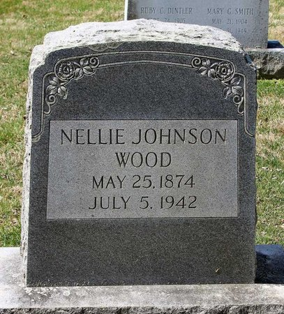 JOHNSON WOOD, NELLIE - Rappahannock County, Virginia | NELLIE JOHNSON WOOD - Virginia Gravestone Photos