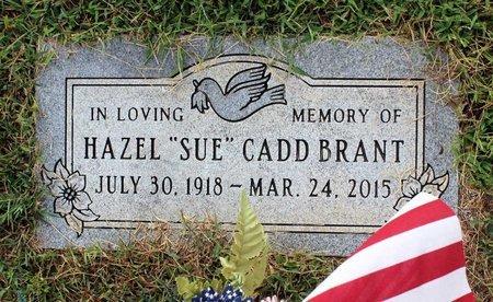 CADD BRANT, HAZEL - Roanoke County, Virginia | HAZEL CADD BRANT - Virginia Gravestone Photos