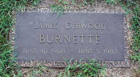BURNETTE, JAMES DERWOOD - Roanoke County, Virginia | JAMES DERWOOD BURNETTE - Virginia Gravestone Photos