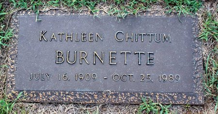 CHITTUM BURNETTE, KATHLEEN - Roanoke County, Virginia | KATHLEEN CHITTUM BURNETTE - Virginia Gravestone Photos