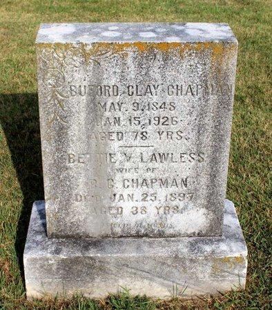 LAWLESS CHAPMAN, BETTIE V. - Roanoke County, Virginia   BETTIE V. LAWLESS CHAPMAN - Virginia Gravestone Photos