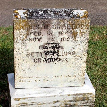 CRADDOCK, JAMES W. - Roanoke County, Virginia | JAMES W. CRADDOCK - Virginia Gravestone Photos
