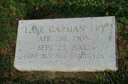 ULREY FRY, LAKE - Roanoke County, Virginia   LAKE ULREY FRY - Virginia Gravestone Photos