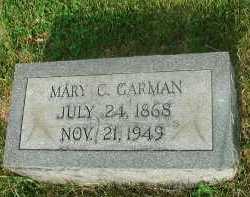 GRISSO GARMAN, MARY C - Roanoke County, Virginia | MARY C GRISSO GARMAN - Virginia Gravestone Photos