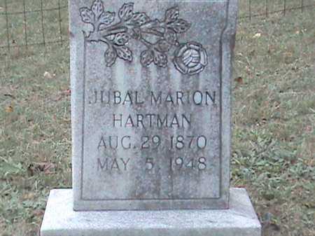 HARTMAN, JUBAL MARION - Roanoke County, Virginia | JUBAL MARION HARTMAN - Virginia Gravestone Photos
