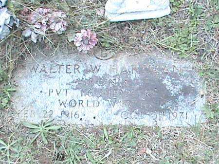 HARTMAN, WALTER W. - Roanoke County, Virginia | WALTER W. HARTMAN - Virginia Gravestone Photos