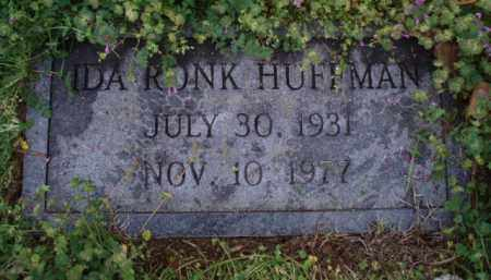 RONK HUFFMAN, IDA - Roanoke County, Virginia | IDA RONK HUFFMAN - Virginia Gravestone Photos