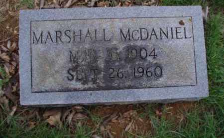 MCDANIEL, MARSHALL - Roanoke County, Virginia | MARSHALL MCDANIEL - Virginia Gravestone Photos