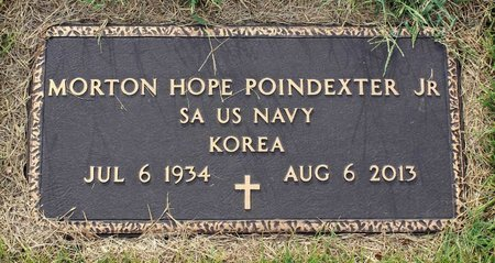 POINDEXTER, MORTON HOPE JR. - Roanoke County, Virginia | MORTON HOPE JR. POINDEXTER - Virginia Gravestone Photos