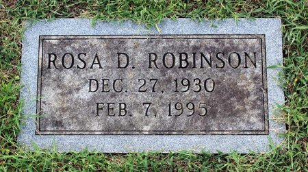 ROBINSON, ROSA D. - Roanoke County, Virginia | ROSA D. ROBINSON - Virginia Gravestone Photos