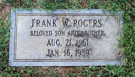 ROGERS, FRANK W. - Roanoke County, Virginia | FRANK W. ROGERS - Virginia Gravestone Photos