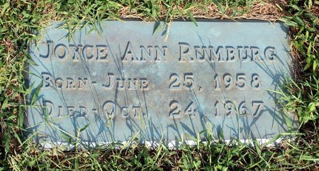 RUMBURG, JOYCE ANN - Roanoke County, Virginia | JOYCE ANN RUMBURG - Virginia Gravestone Photos