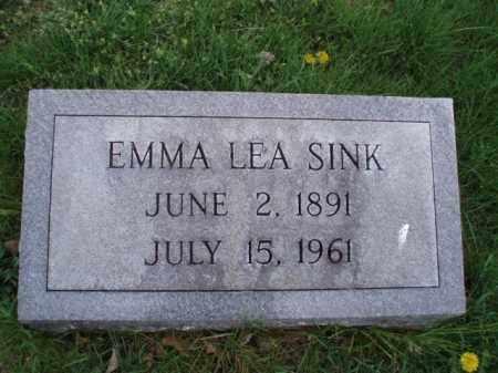 SINK, EMMA LEA - Roanoke County, Virginia | EMMA LEA SINK - Virginia Gravestone Photos