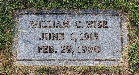 WISE, WILLIAM C. - Roanoke County, Virginia | WILLIAM C. WISE - Virginia Gravestone Photos