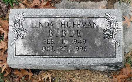 HUFFMAN BIBLE, LINDA - Rockingham County, Virginia   LINDA HUFFMAN BIBLE - Virginia Gravestone Photos