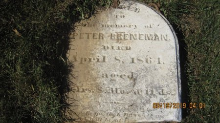 BRENEMAN, PETER - Rockingham County, Virginia | PETER BRENEMAN - Virginia Gravestone Photos