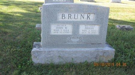 BRUNK, JOHN W. - Rockingham County, Virginia | JOHN W. BRUNK - Virginia Gravestone Photos