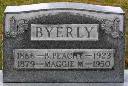 BYERLY, MAGGIE M. - Rockingham County, Virginia | MAGGIE M. BYERLY - Virginia Gravestone Photos